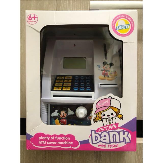 迪士尼 米奇 米妮 ATM 存錢 仿真遊戲