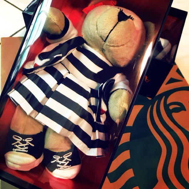 星巴克 Starbucks x Alice + Olivia ao 時尚熊寶寶