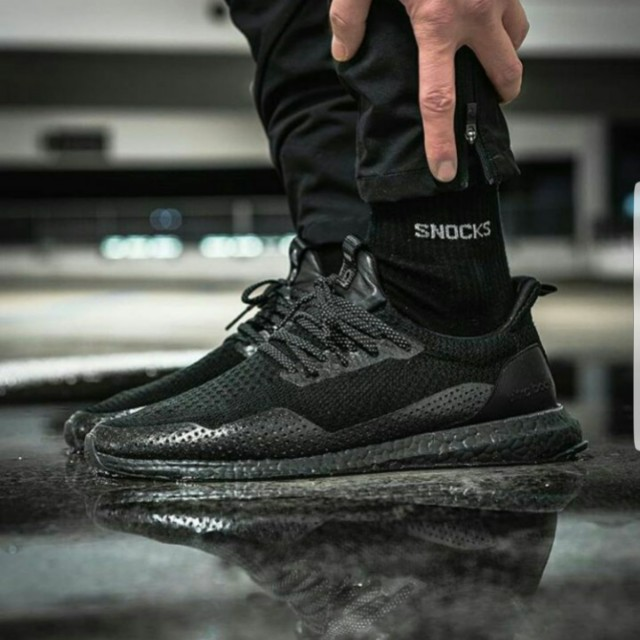 5861dee6a Adidas Consortium X Haven Ultra Boost Uncaged Triple Black US11 ...