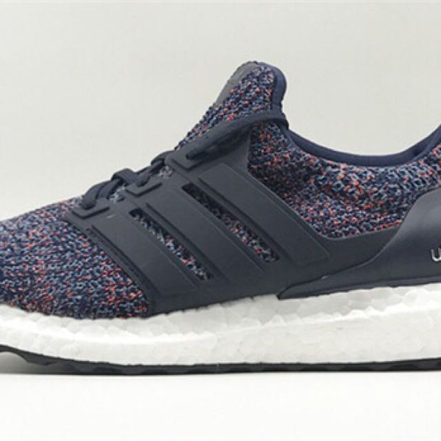 Adidas Ultraboost 4.0 Black Rainbow, Men's Fashion, Footwear