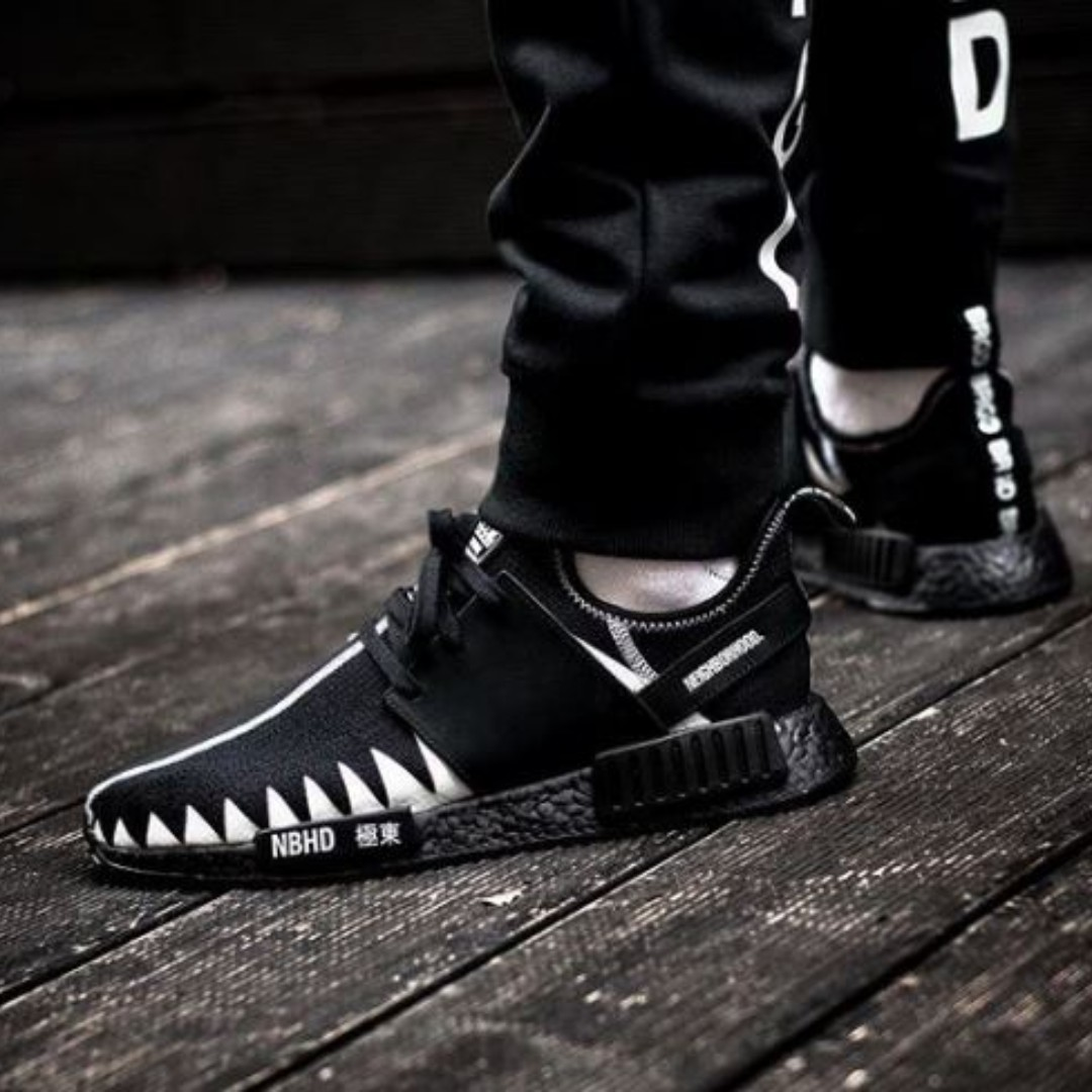 9f20ed36a adidas x Neighborhood NBHD NMD R1 PK