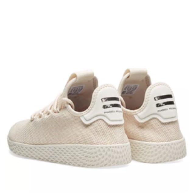 b536c4658cfdf Adidas x Pharrell Williams Tennis Hu Linen  Chalk white W