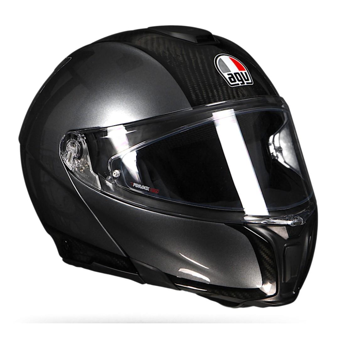 Agv Sportmodular Carbon Helmet Motorcycles Motorcycle Apparel On Carousell