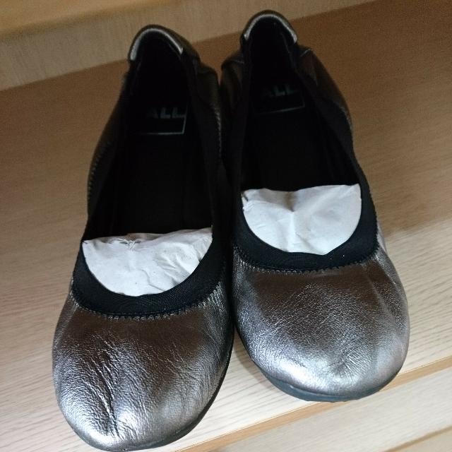 ALL BLACK 小銀娃娃包鞋