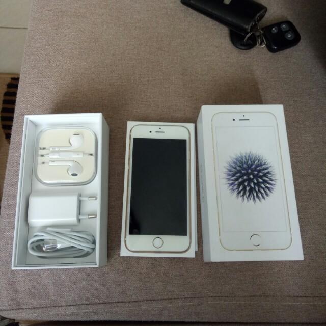 Apple iPhone 6 32GB white gold masih garansi resmi ibox indonesia ... 295570bb87