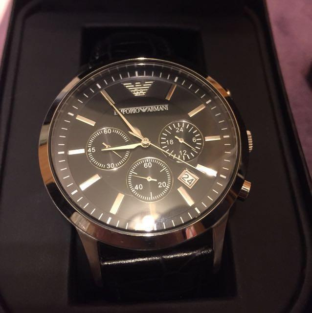 Armani 手錶 黑熊 我的阿曼尼