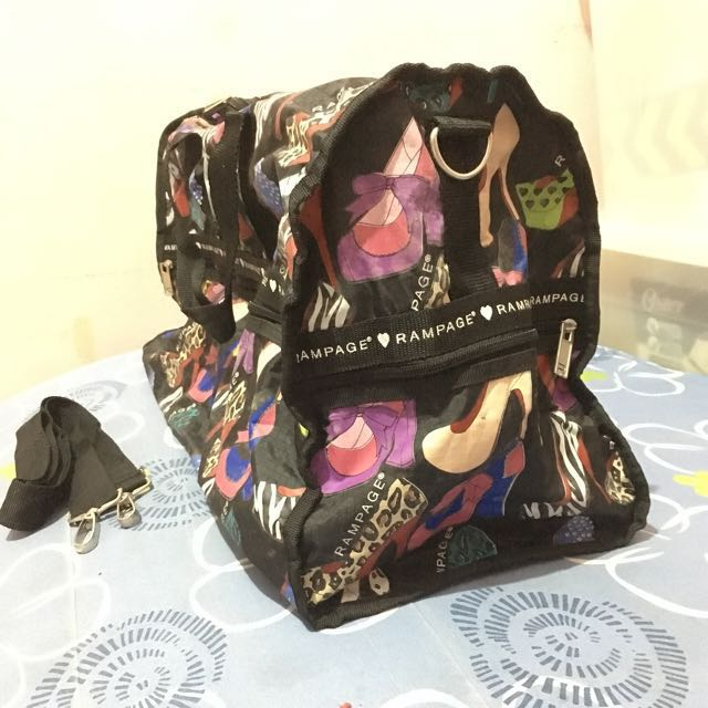 Authentic Rampage Travel Bag