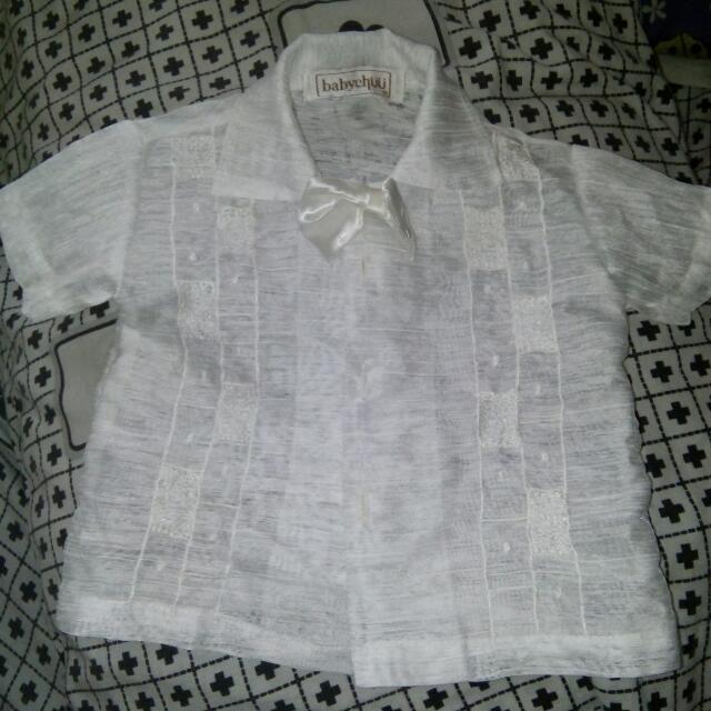 Baby Boy Baptism Attire White