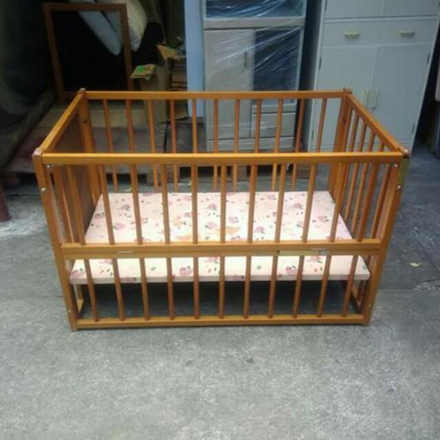 Baby Wooden Crib ⛩️⛩️⛩️