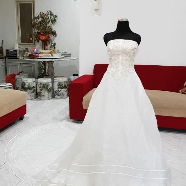 Baju pengantin wedding gown size s-m