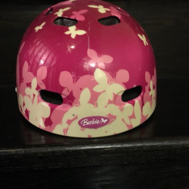 Barbie helmet small youth