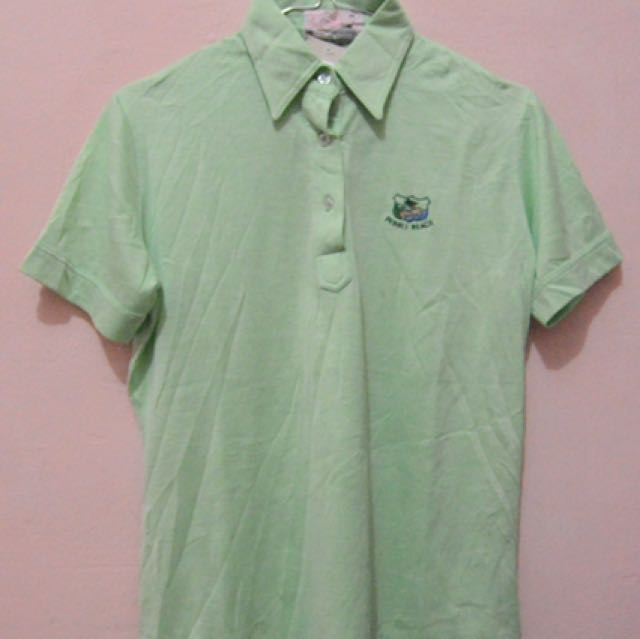 Basic Light Green Polo