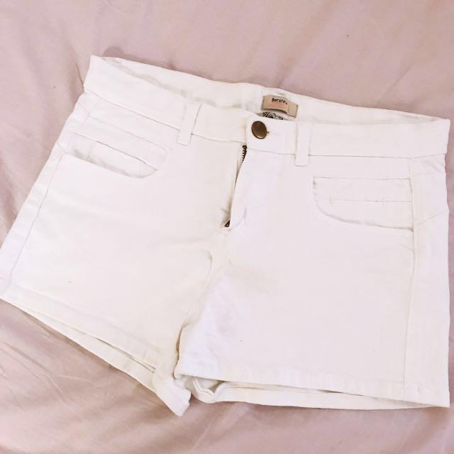 Bershka high waisted shorts