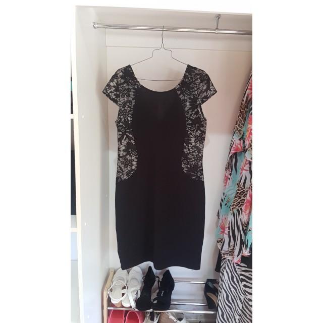 Black Evening Dress size 14