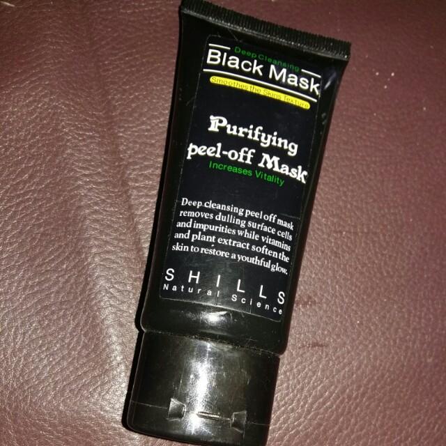 Black mask for black head