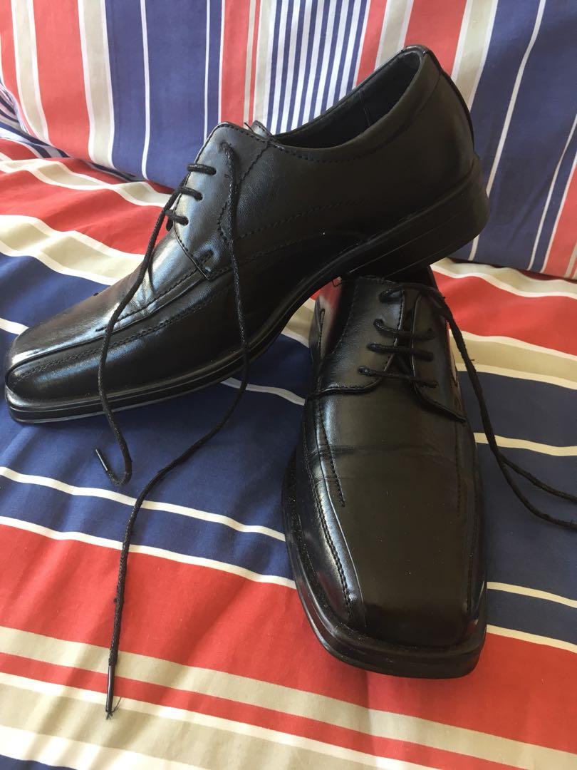Black Men's Dress/School Shoes