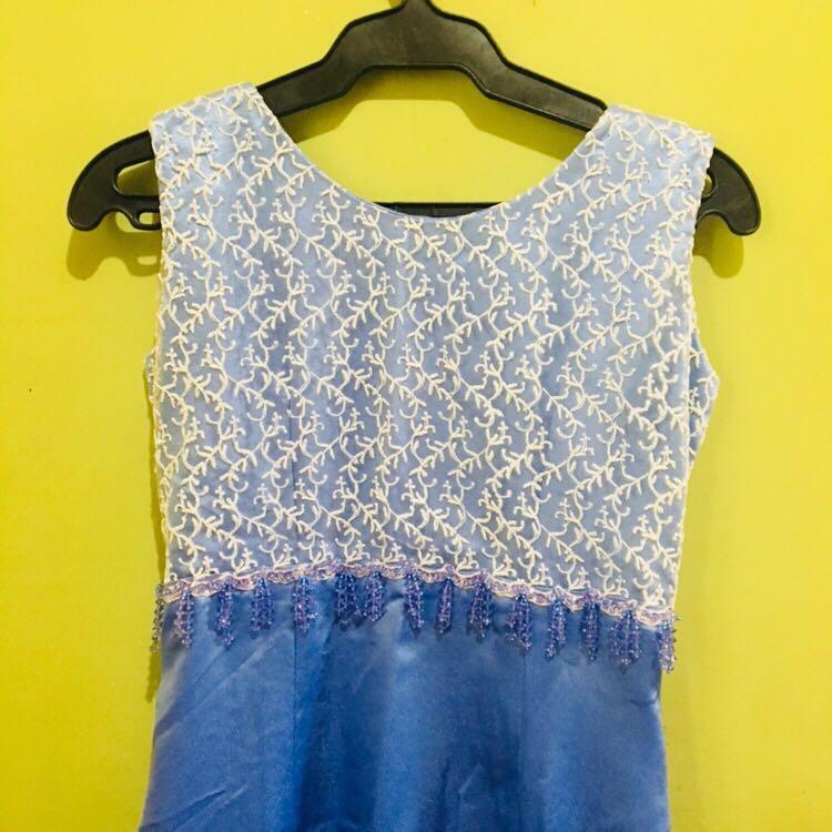 Blue Long Dress / Gown