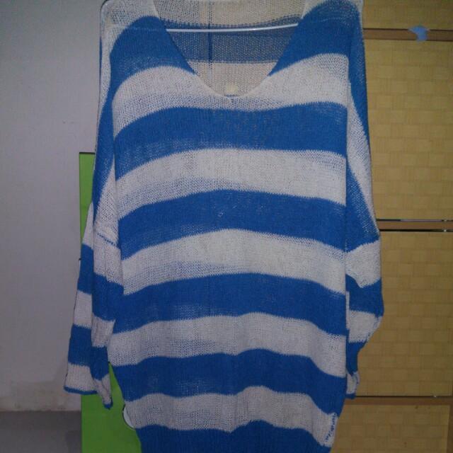 BlueStripes Sweater