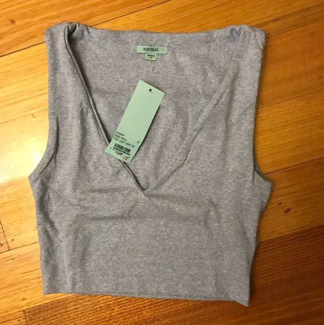 BNWT Kookai Corey Crop Top