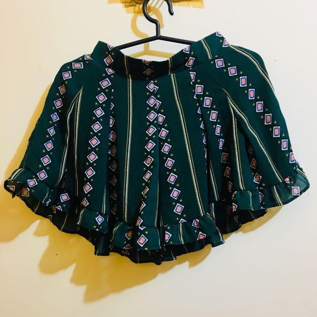 Bohemian Shorts / Skirt like