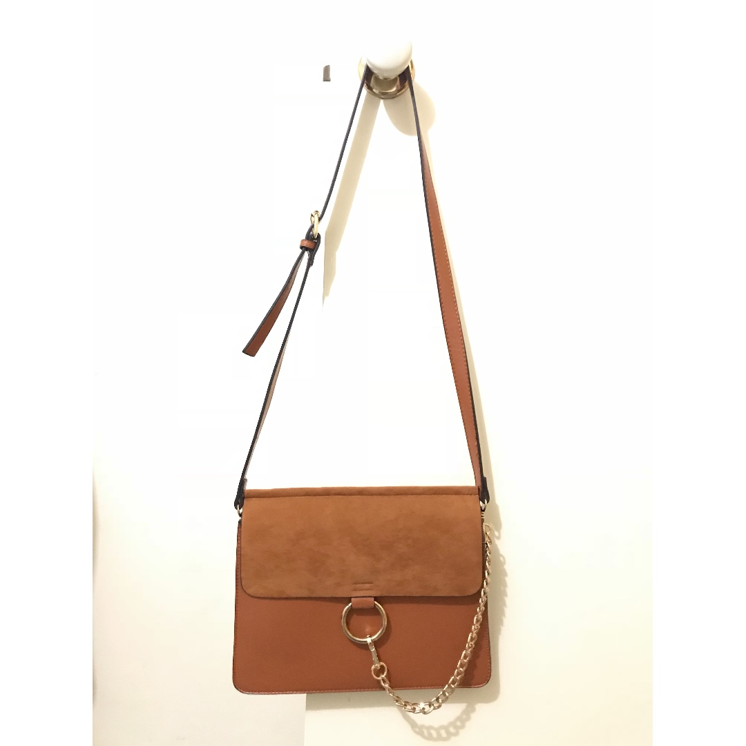 BRAND NEW Tan Envelope Handbag
