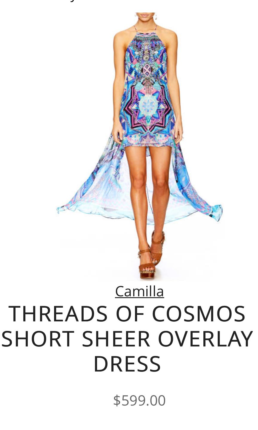 CAMILLA DRESS - BRAND NEW WITH TAGS - SIZE M
