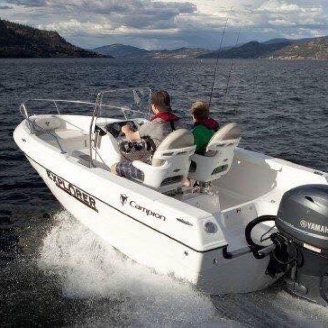 加拿大CAMPION EXPLORER 16呎4人牌快艇 全新 未落水
