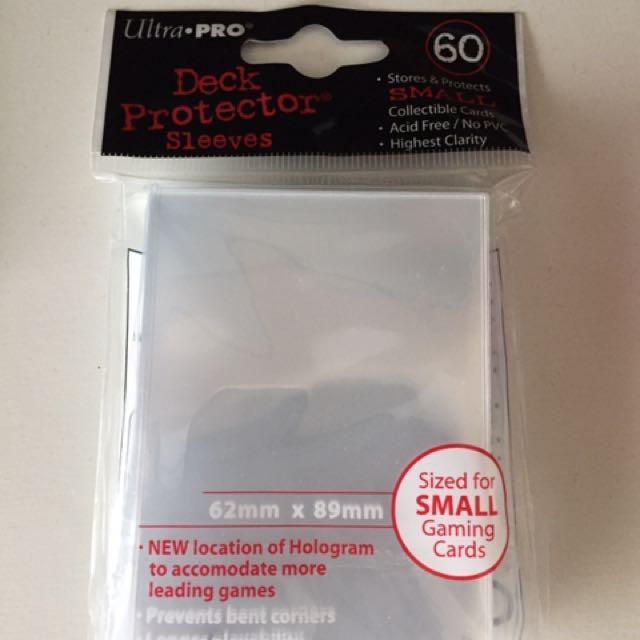 Card protector sleeves