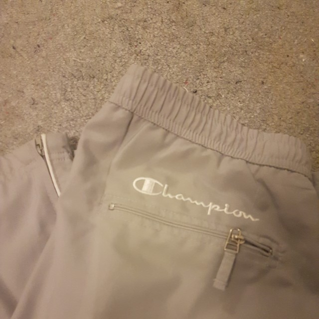 Vintage champion track pants size small