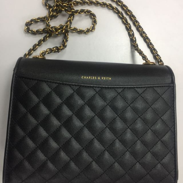 Charles Keith Bag New Women S Fashion Bags Wallets On Carou