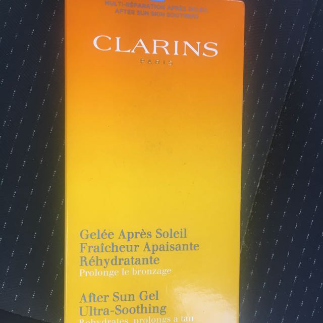 Clarins after sun gel