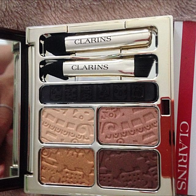 Clarins Colour Quartet And Liner Palete