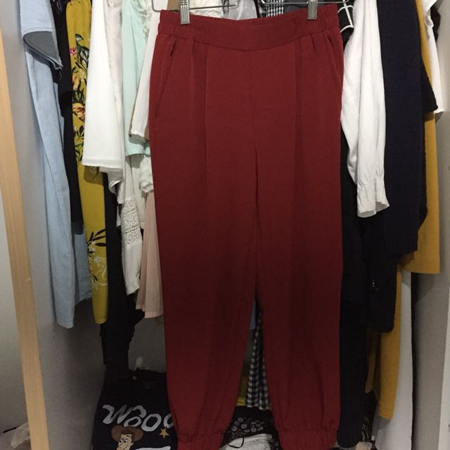 Colorbox red pants