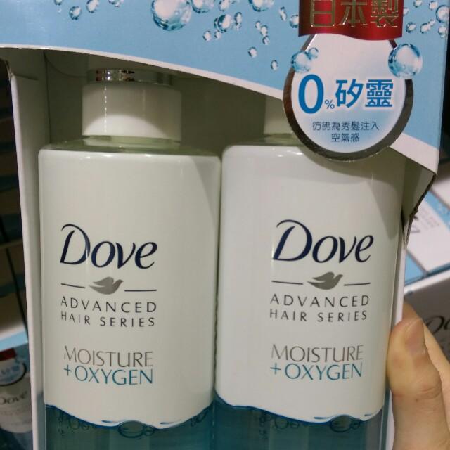 Costco代購美髮保養商品。Dove多芬日本製0%無矽靈 輕感保濕洗髮精480公克*2入