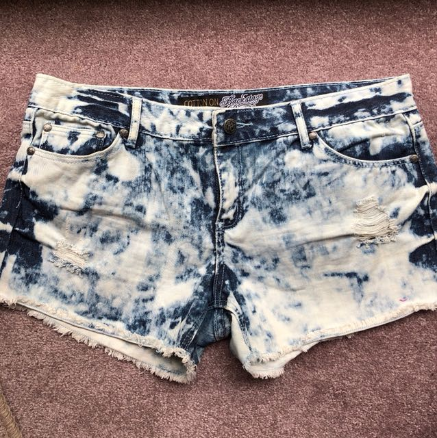 Cotton On Denim Short Size 14