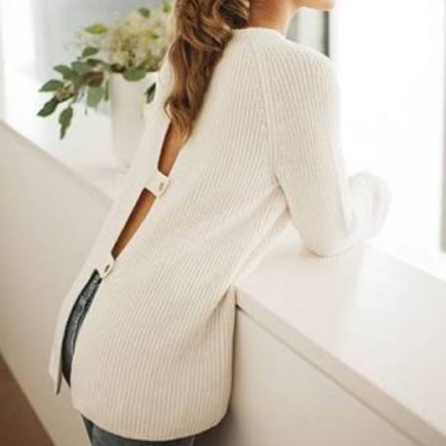 Country Road Button Back Knit