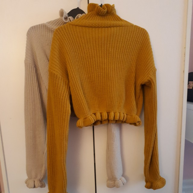 Cropped sweaters