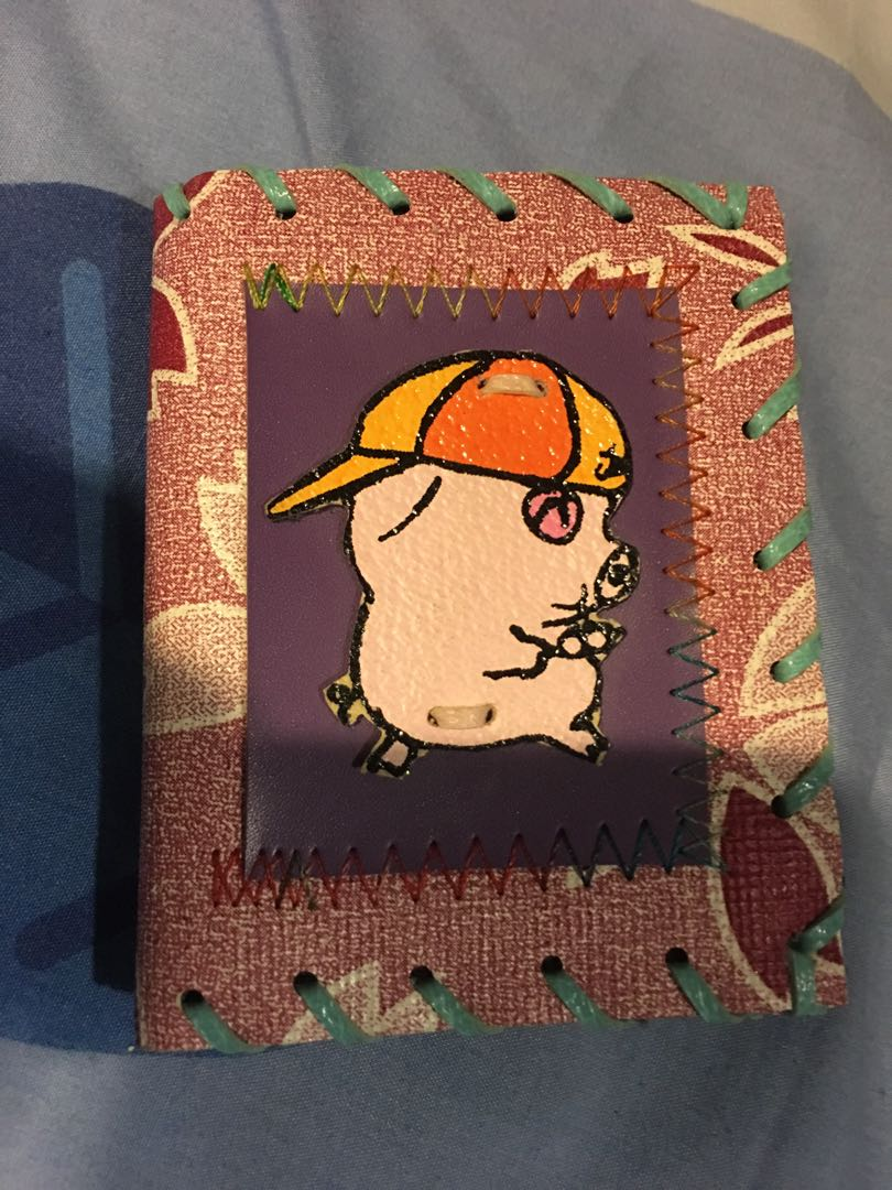 Cute mak dao piggy small handmade wallet fr overseas