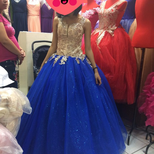Debut gown, Preloved Women\'s Fashion, Clothes on Carousell