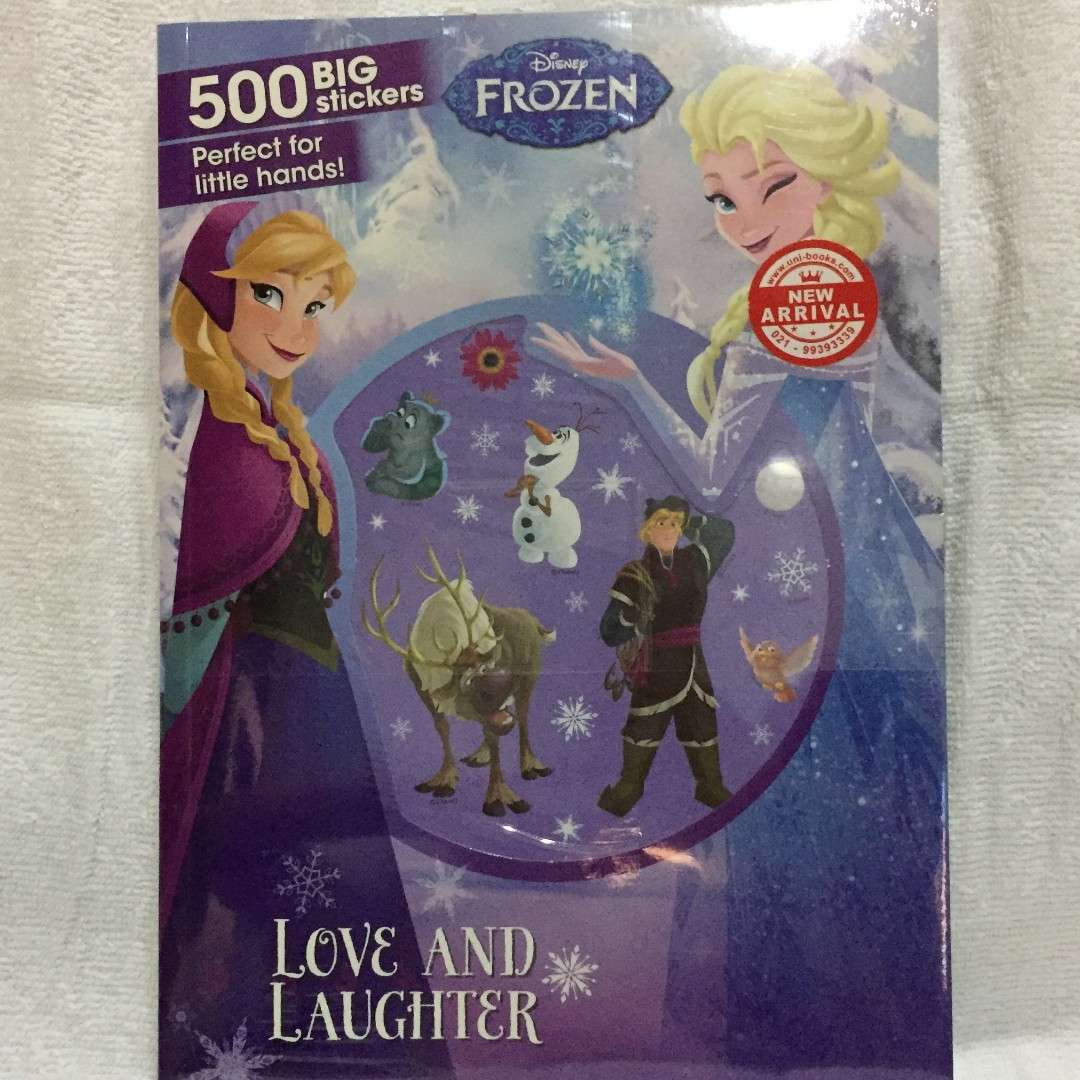 Disney Frozen Sticker Book Love and Laughter