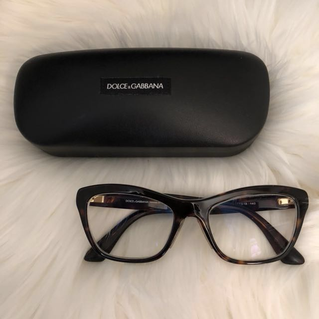 Dolce Gabbana frames/prescription lens