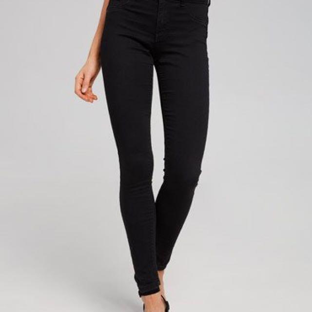 Dotti high waisted black jeans