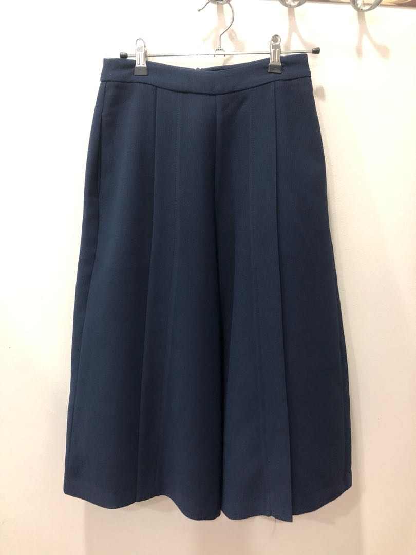 Doublewoot Navy Culottes