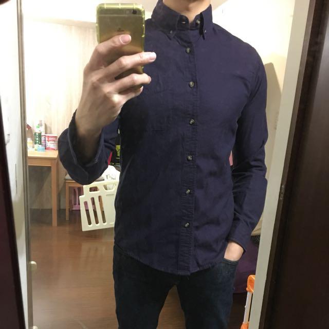 (二手)ESPRIT素色襯衫 S