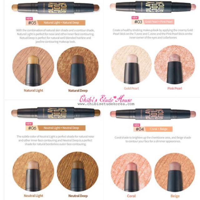 ... multi co Source · Etude House Play 101 Stick Contour Duo Produk Badan dan kecantikan Makeup di Carousell