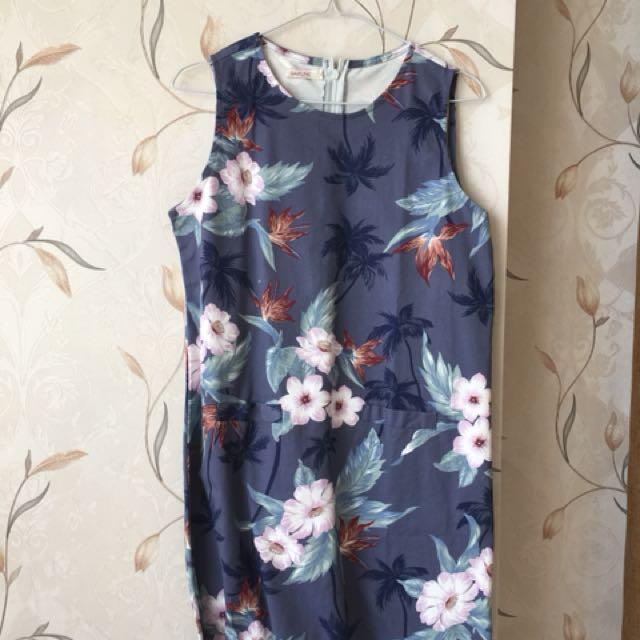 Flower Dress MURAH!