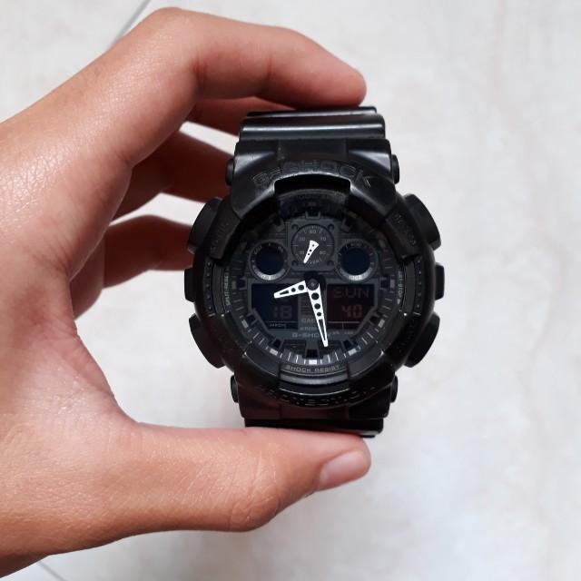 16ebb3701a5e G Shock 5081 Ga100 Black White Watch