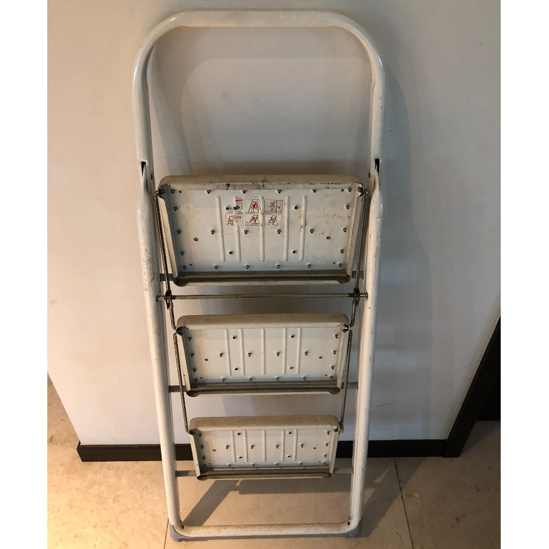 Geberit 3 Steps Aluminium Ladder