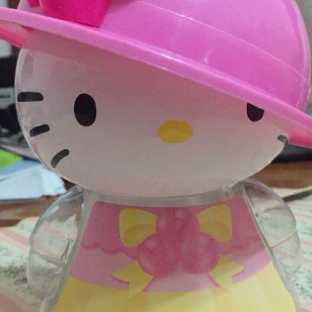 Hello kitty 絕版 收藏 存錢桶