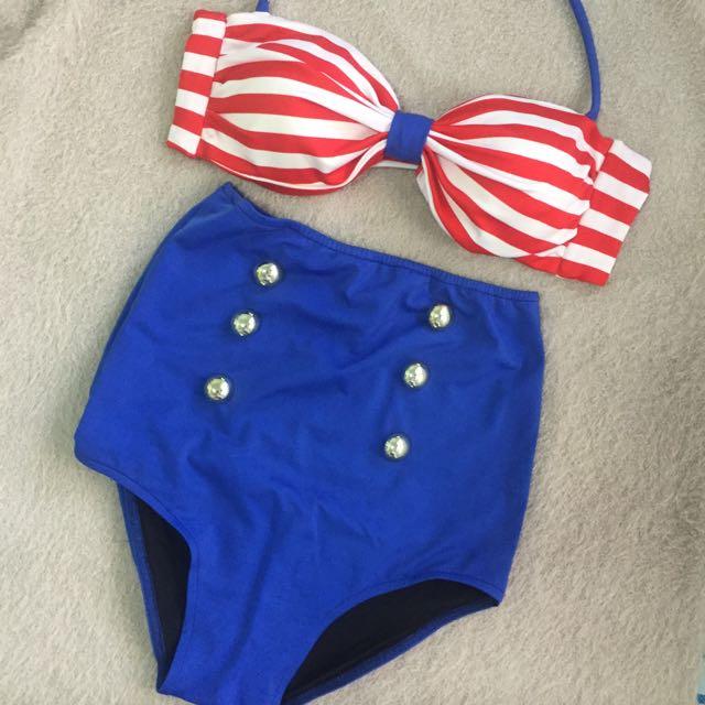 High Waist Swimwear